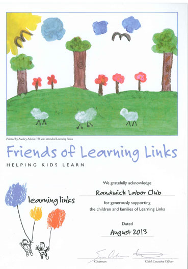 Friends of Learning Links